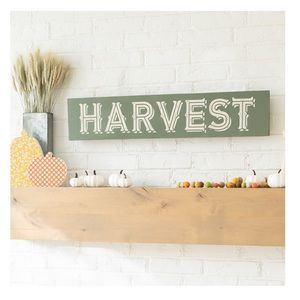 "Chalk Couture Harvest Signpost 18x24"""